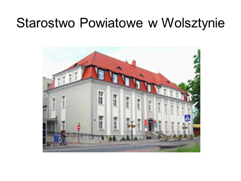 Starostwo Powiatowe w Wolsztynie