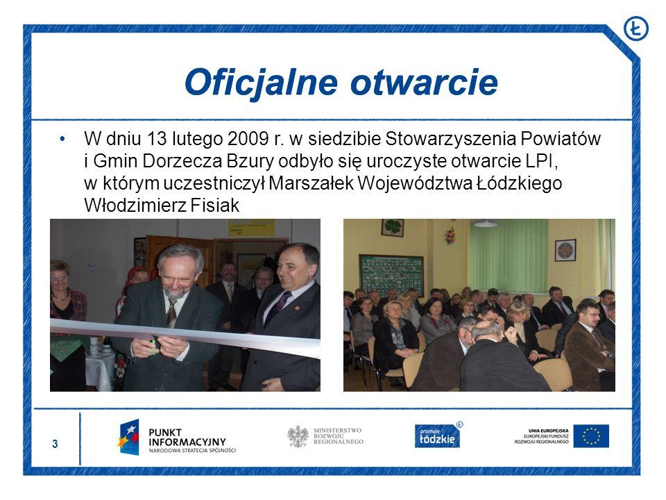 Oficjalne otwarcie Oficjalne otwarcie