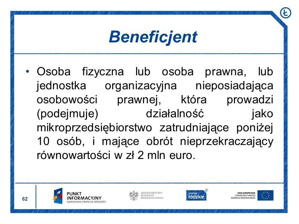 Beneficjent