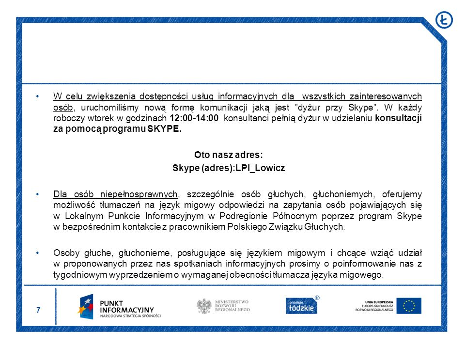 Skype (adres):LPI_Lowicz