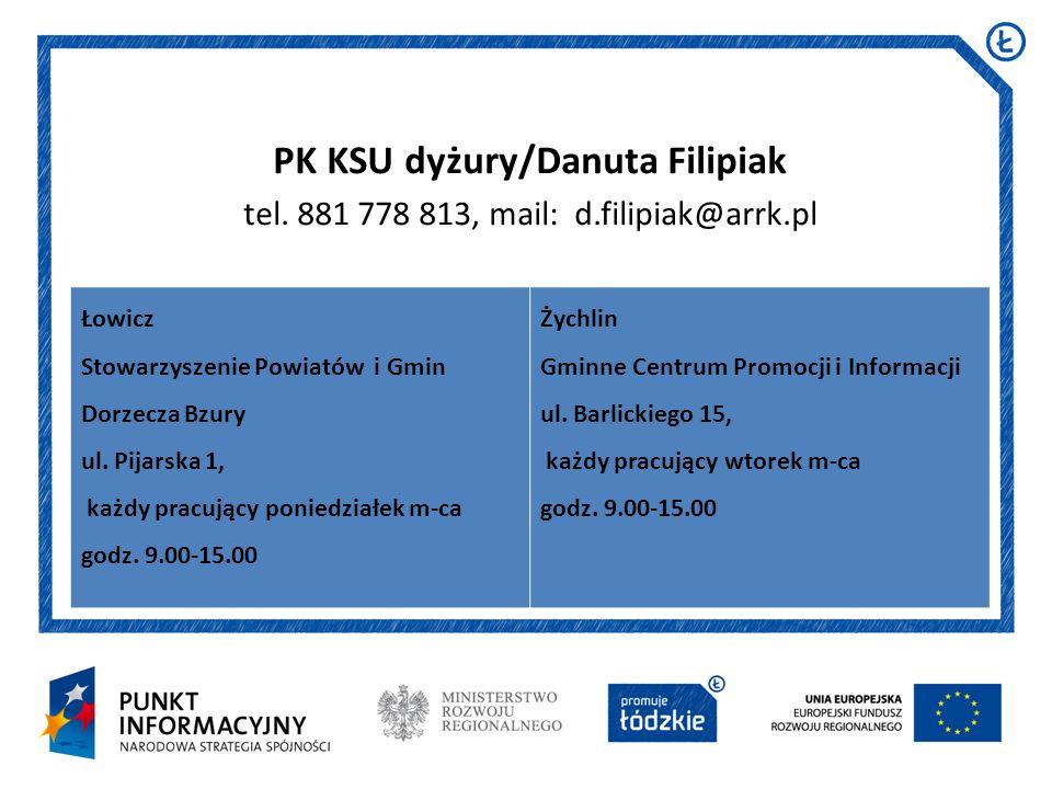 PK KSU dyżury/Danuta Filipiak