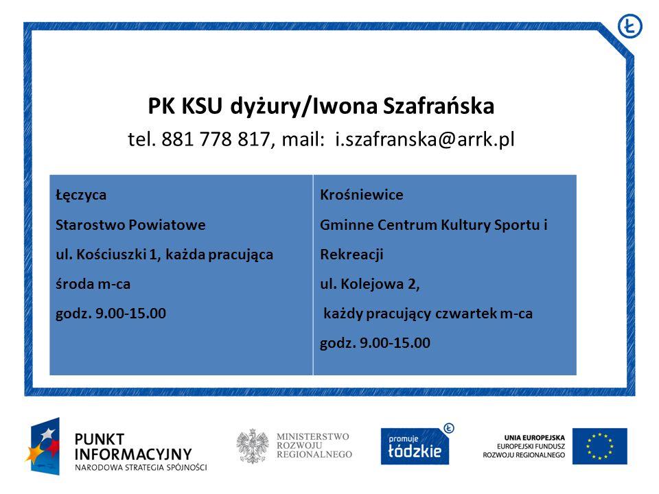 PK KSU dyżury/Iwona Szafrańska