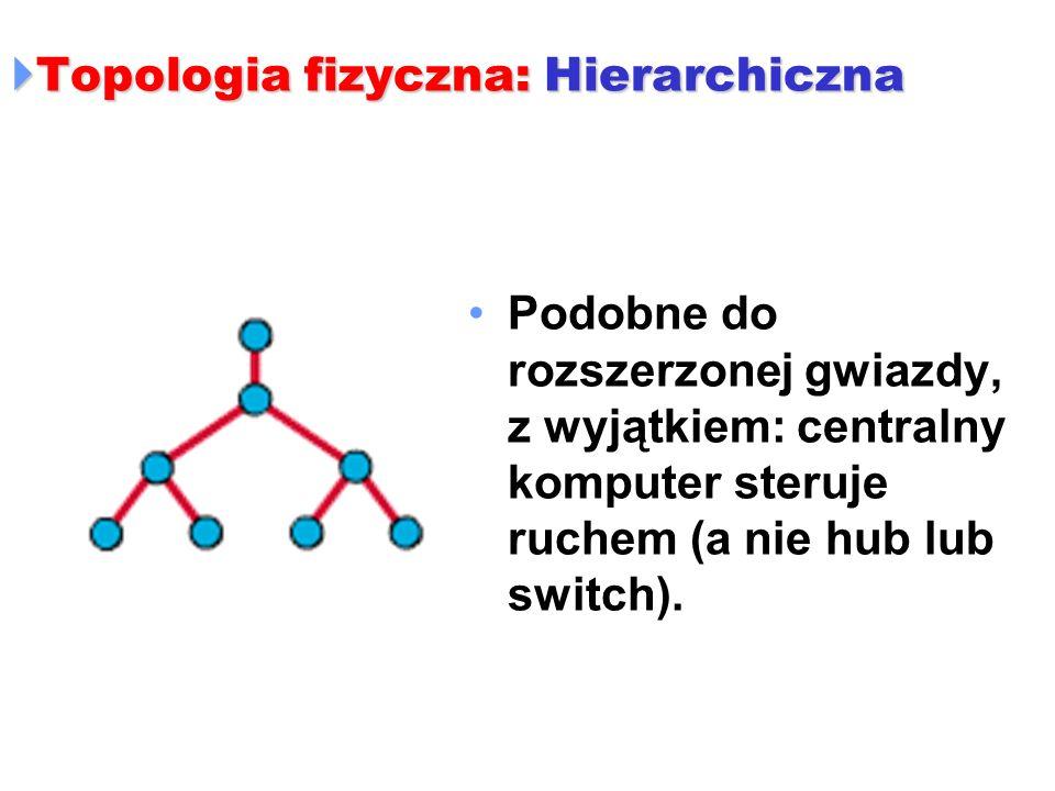 Topologia fizyczna: Hierarchiczna