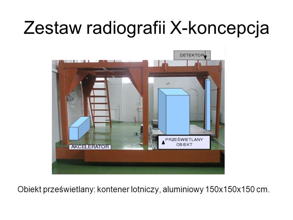 Zestaw radiografii X-koncepcja