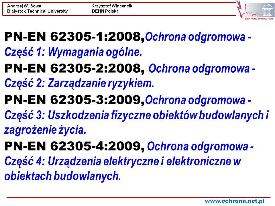 PN-EN 62305-1:2008,Ochrona odgromowa - Część 1: Wymagania ogólne.