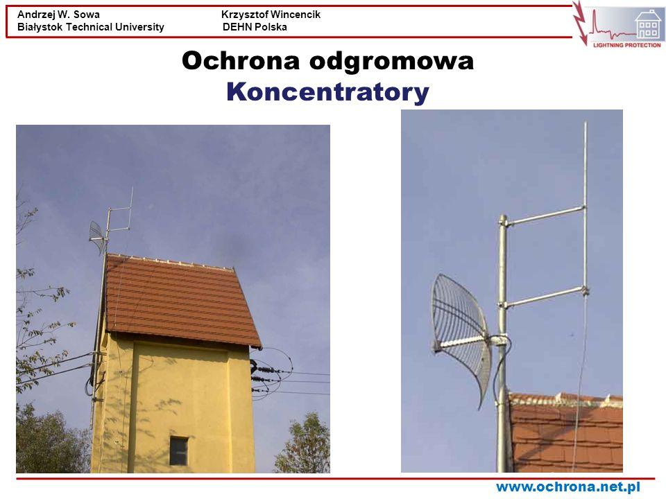 Ochrona odgromowa Koncentratory
