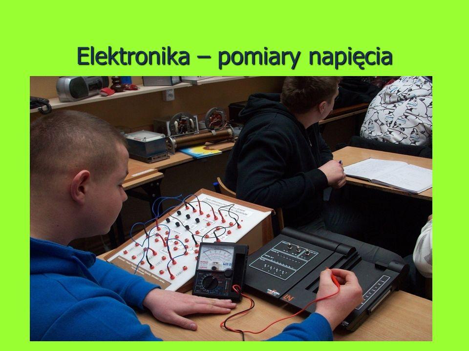 Elektronika – pomiary napięcia