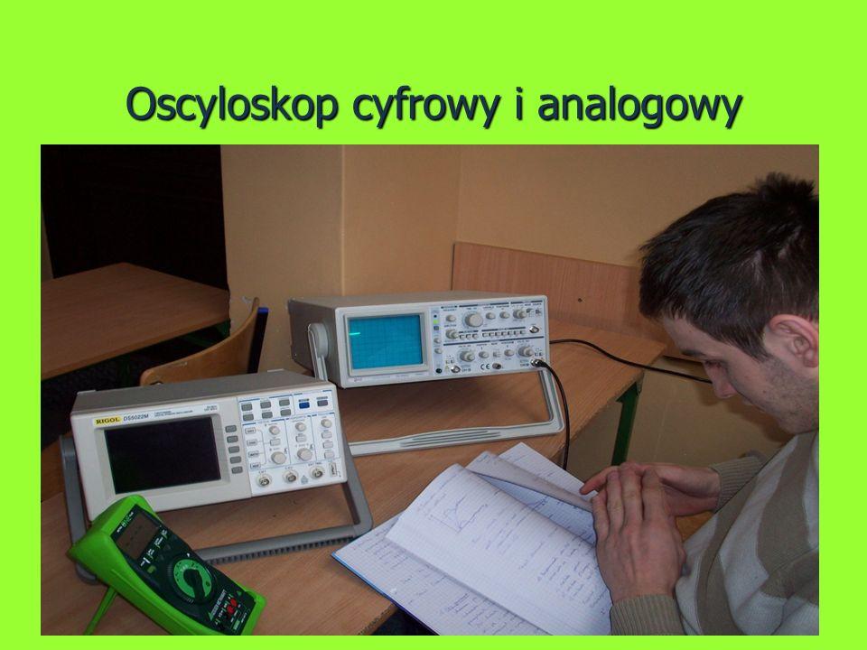 Oscyloskop cyfrowy i analogowy