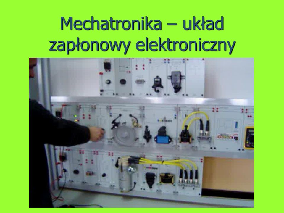 Mechatronika – układ zapłonowy elektroniczny