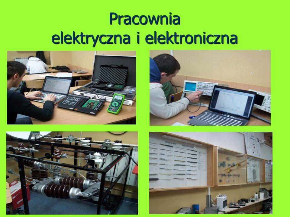 Pracownia elektryczna i elektroniczna