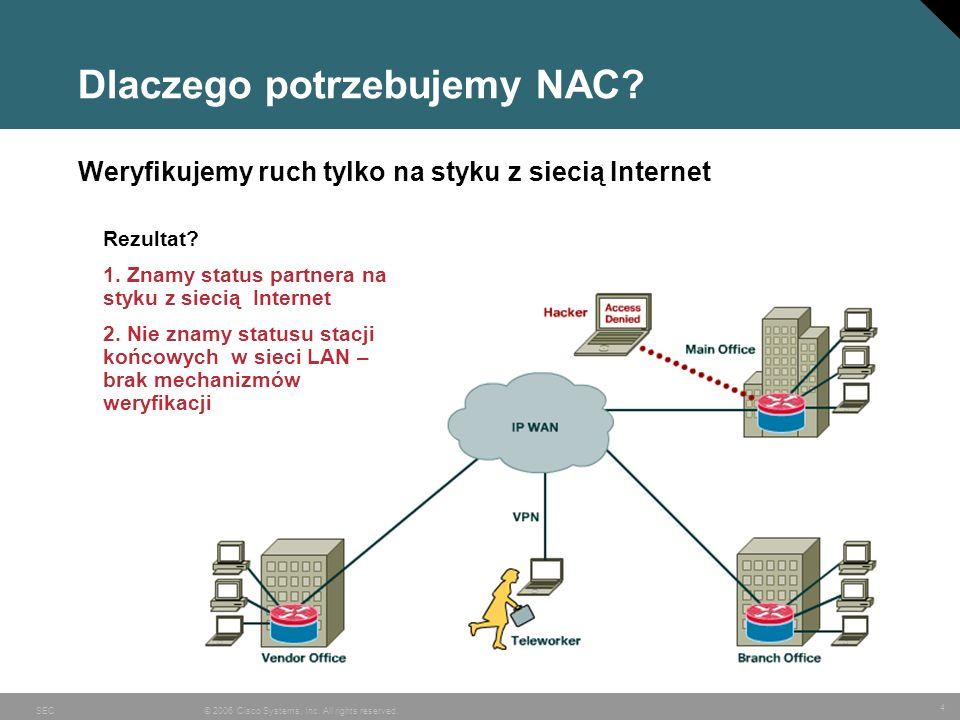Dlaczego potrzebujemy NAC