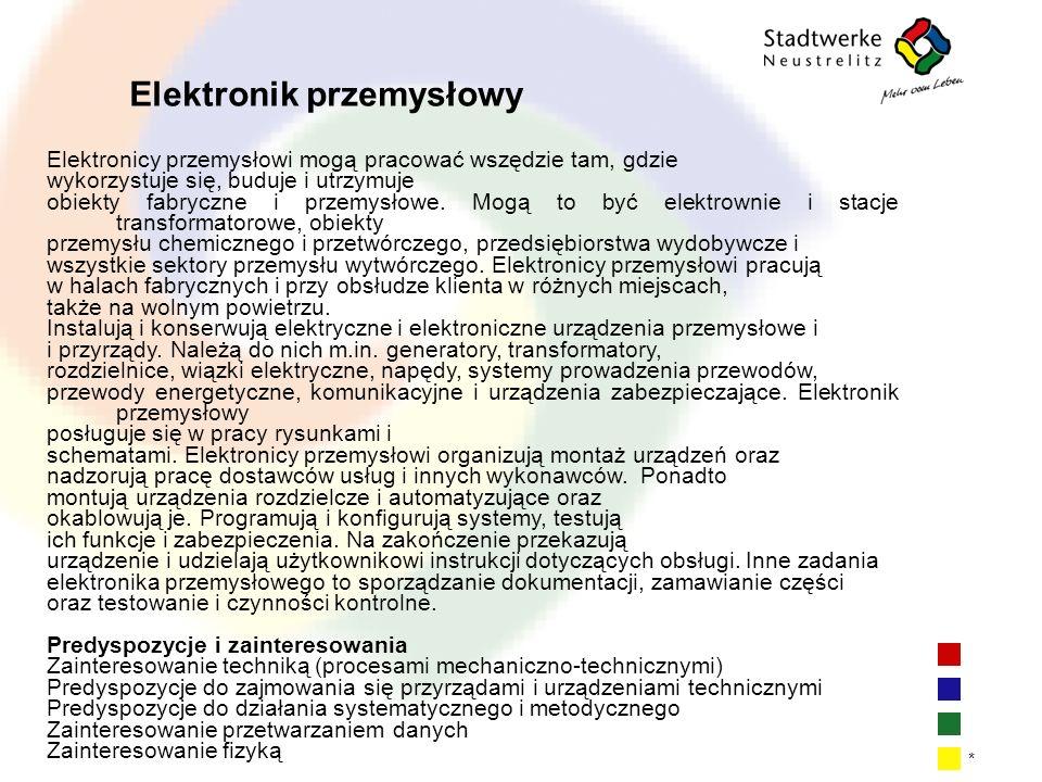 Elektronik przemysłowy