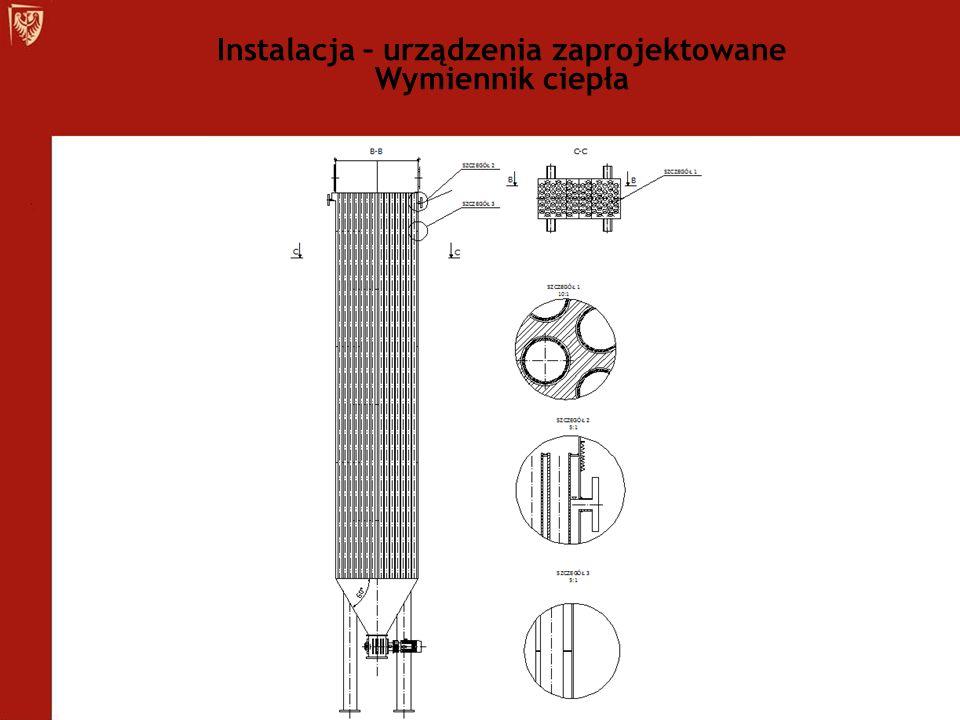 Instalacja – urządzenia zaprojektowane