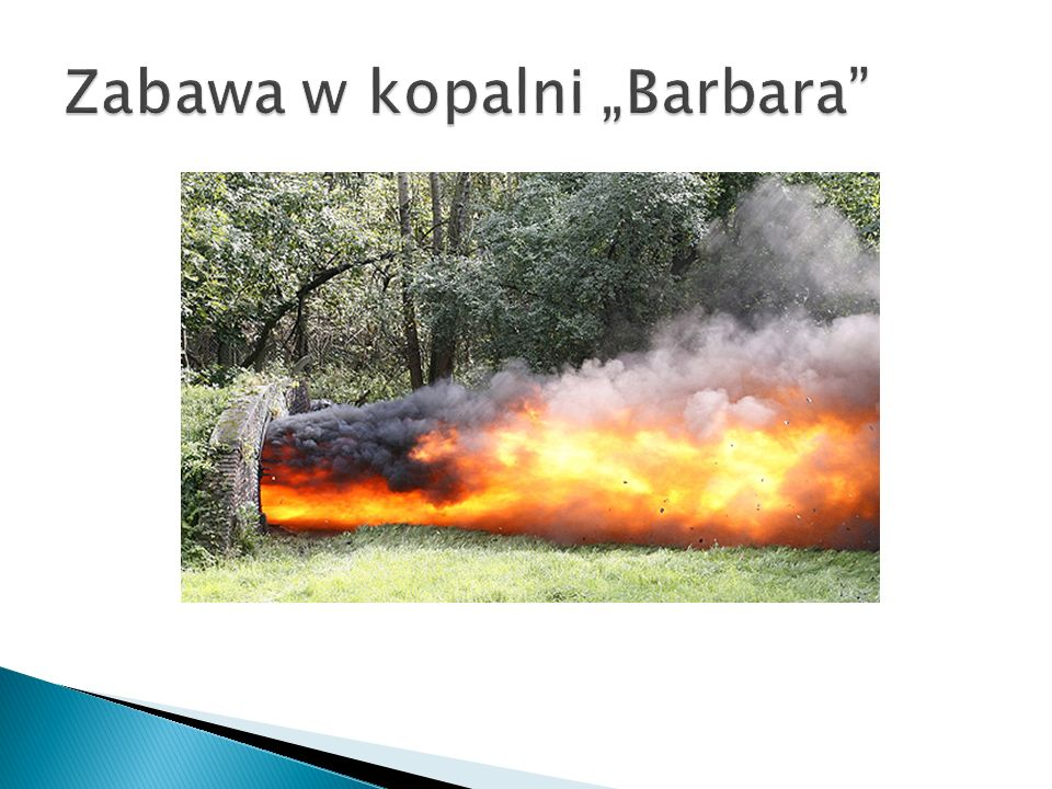 """Zabawa w kopalni """"Barbara"""