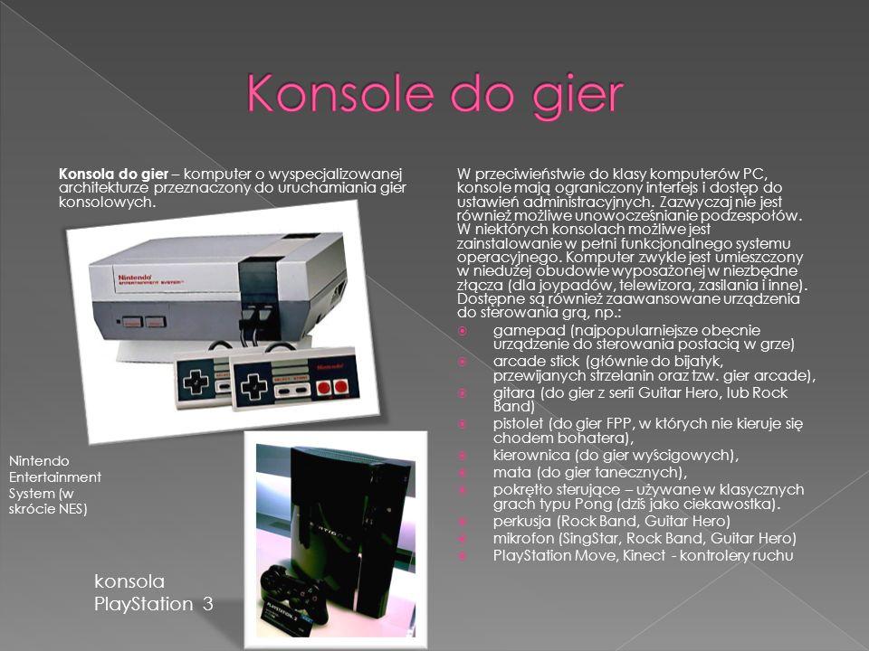 Konsole do gier konsola PlayStation 3