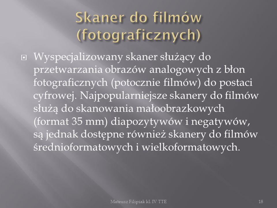 Skaner do filmów (fotograficznych)
