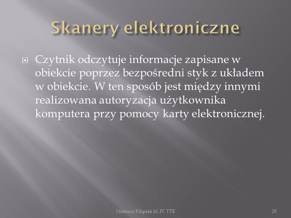 Skanery elektroniczne