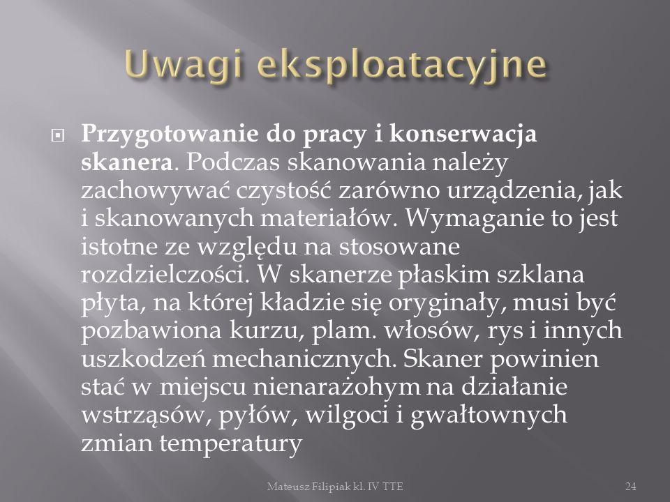 Mateusz Filipiak kl. IV TTE