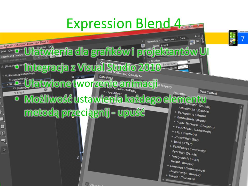 Expression Blend 4 Ułatwienia dla grafików i projektantów UI