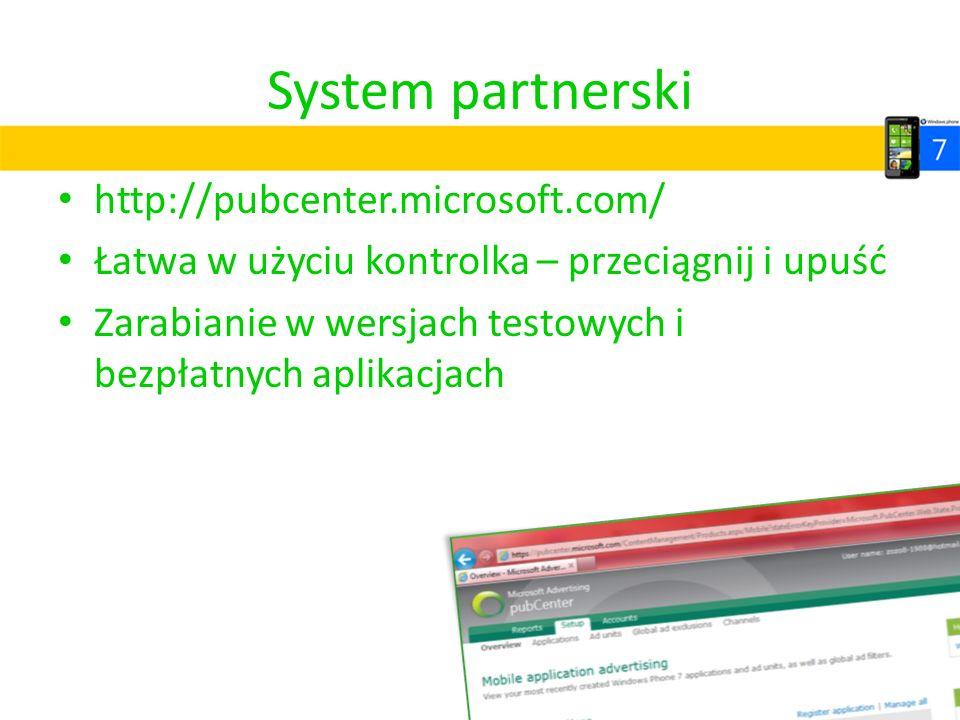 System partnerski http://pubcenter.microsoft.com/