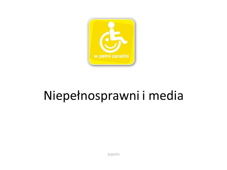 Niepełnosprawni i media
