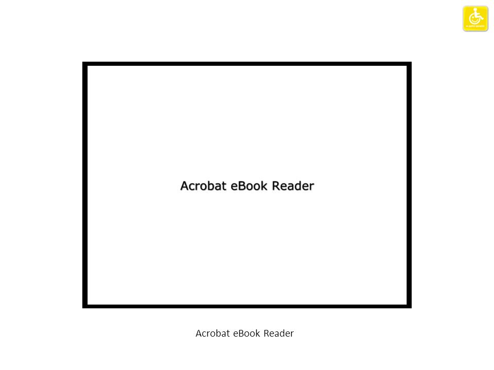 Acrobat eBook Reader