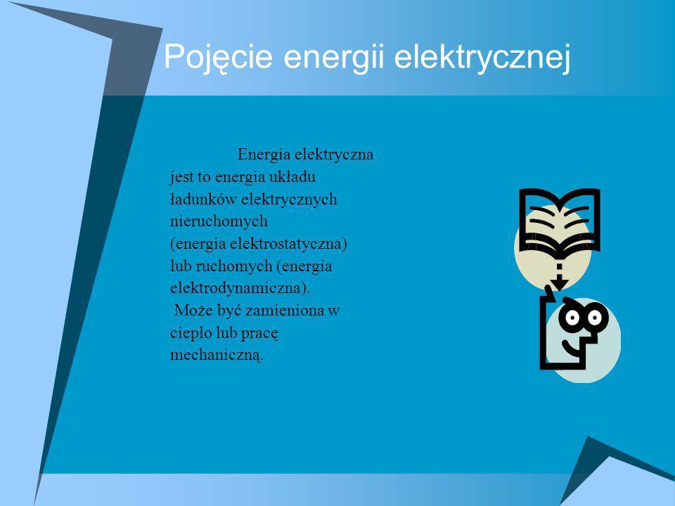 Pojęcie energii elektrycznej
