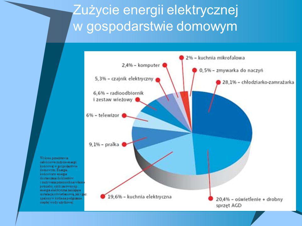Zużycie energii elektrycznej w gospodarstwie domowym