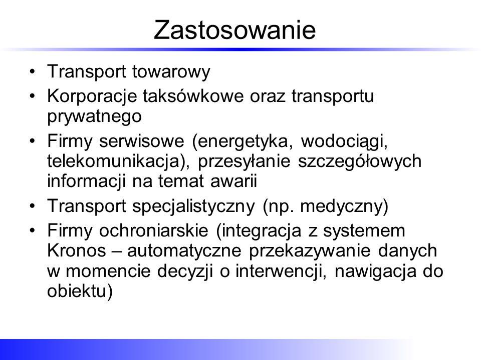 Zastosowanie Transport towarowy