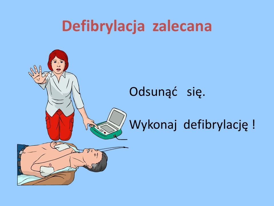 Defibrylacja zalecana