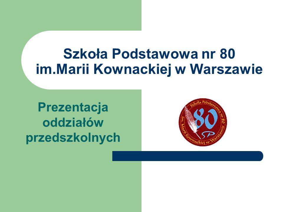 Szkoła Podstawowa nr 80 im.Marii Kownackiej w Warszawie