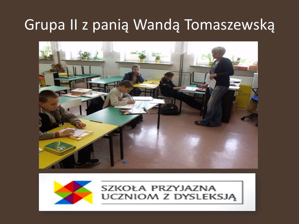 Grupa II z panią Wandą Tomaszewską