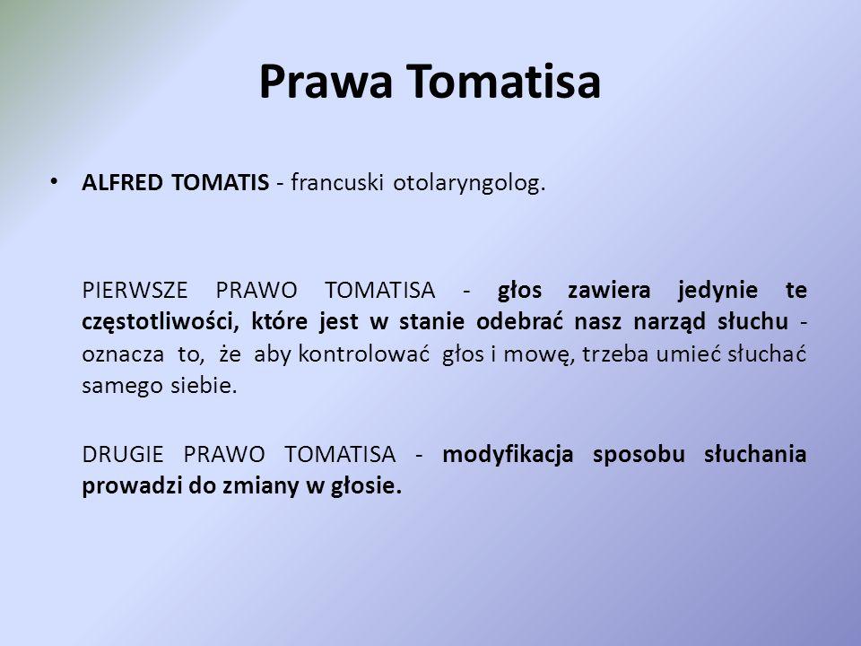 Metoda Tomatisa Stymulacja audio-psycho-lingwistyczna;