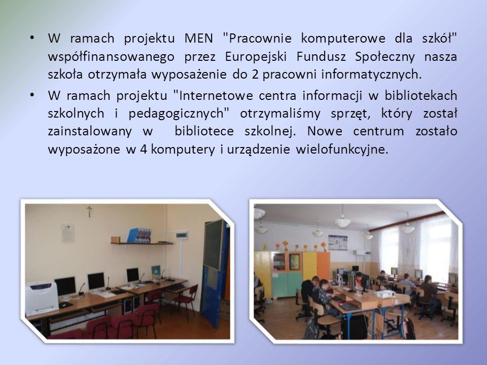 Szkolne pracownie Informatyczne i ICIMP
