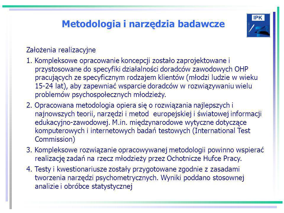 Metodologia i narzędzia badawcze