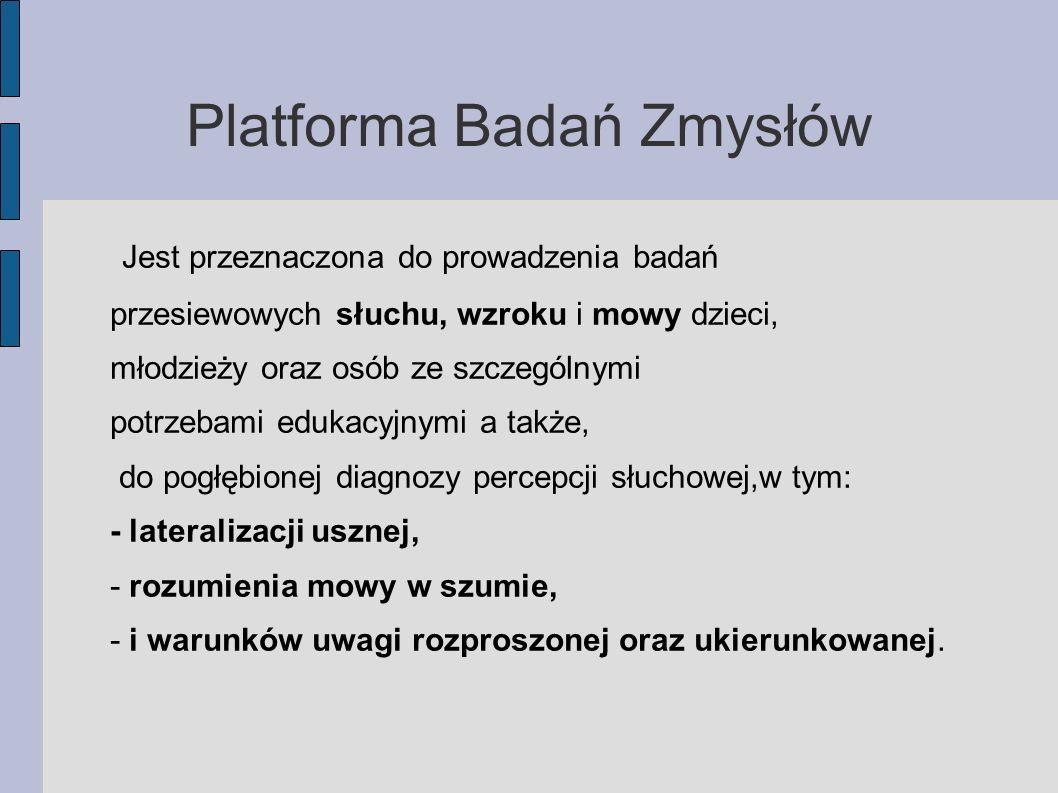 Platforma Badań Zmysłów