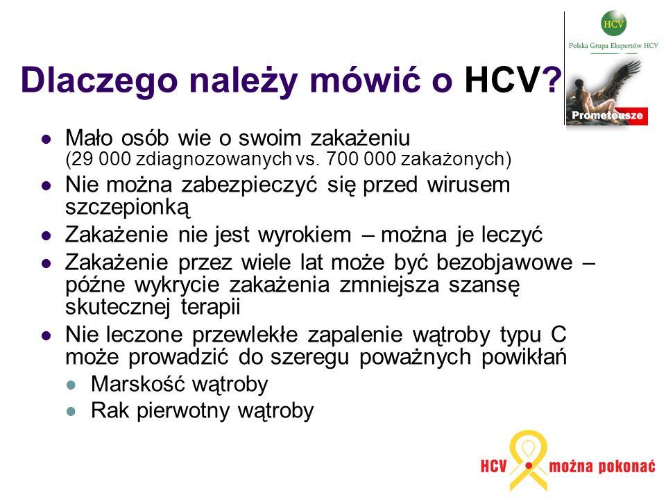 Dlaczego należy mówić o HCV