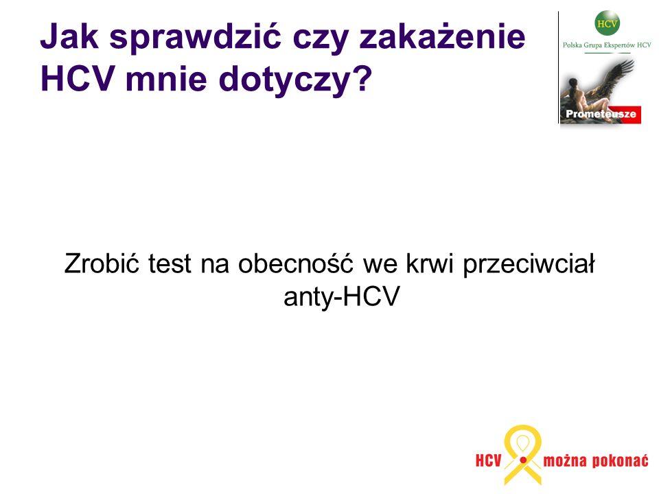 Jak sprawdzić czy zakażenie HCV mnie dotyczy