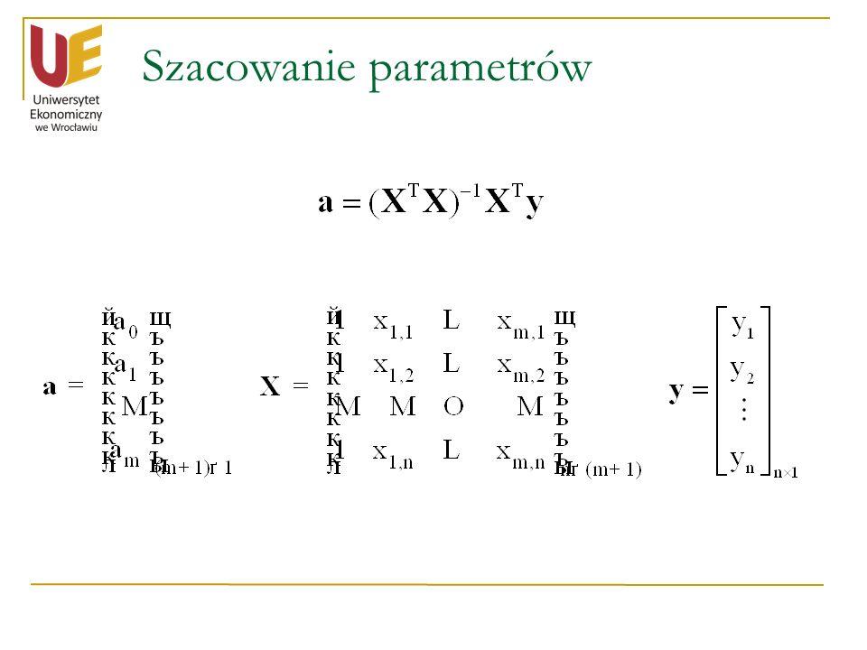 Szacowanie parametrów