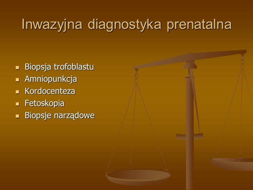 Inwazyjna diagnostyka prenatalna
