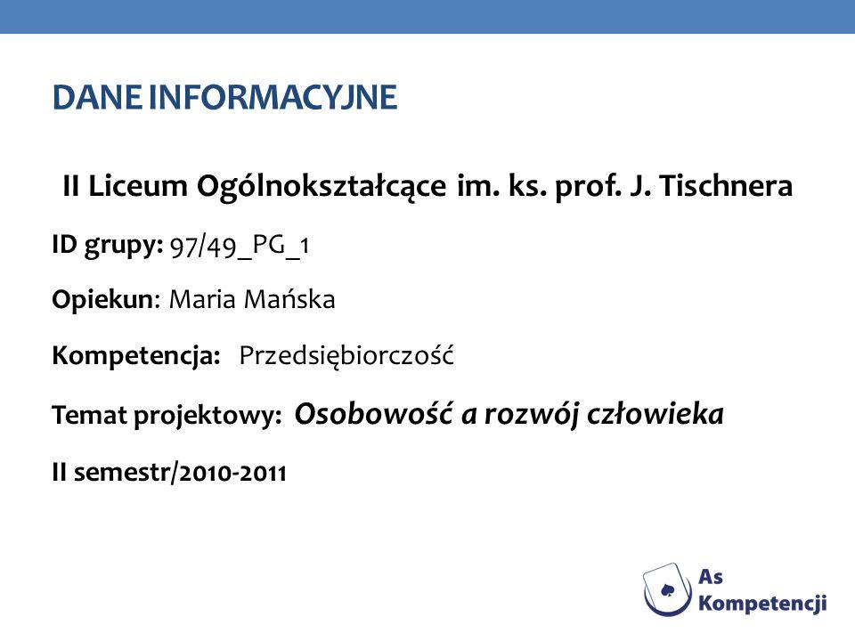 II Liceum Ogólnokształcące im. ks. prof. J. Tischnera