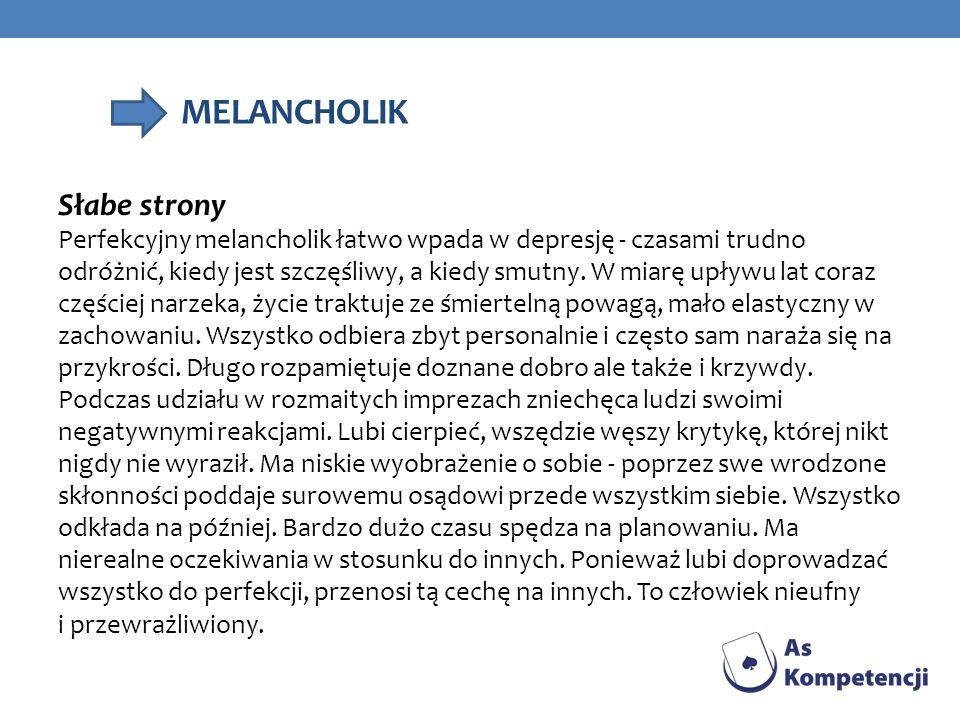 MELANCHOLIK