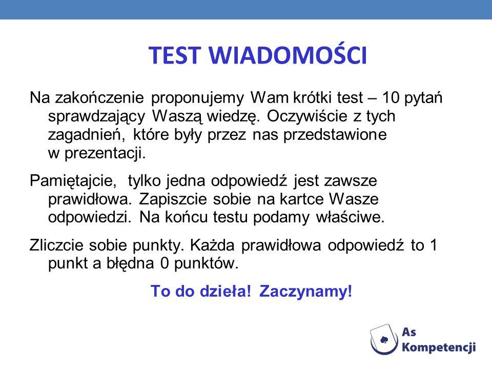 TEST WIADOMOŚCI
