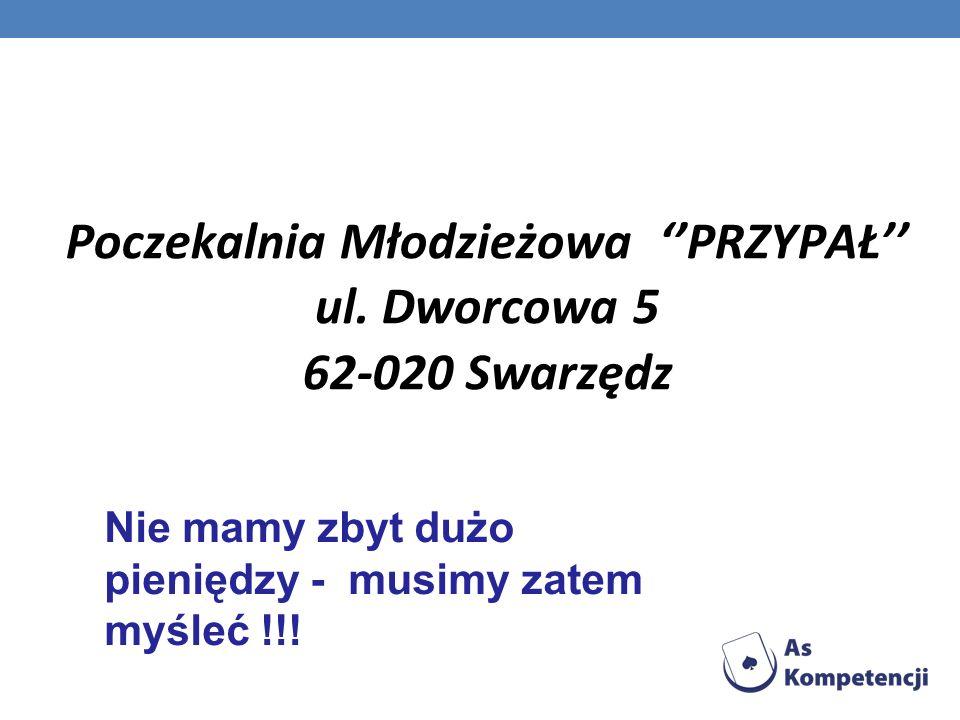 Poczekalnia Młodzieżowa ''PRZYPAŁ'' ul. Dworcowa 5 62-020 Swarzędz