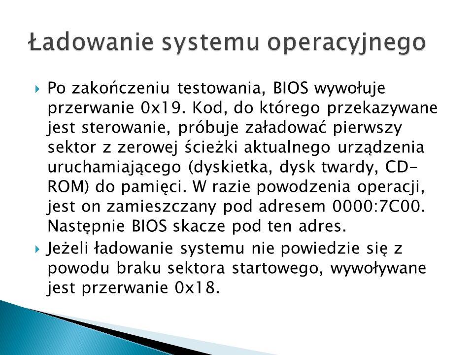 Ładowanie systemu operacyjnego