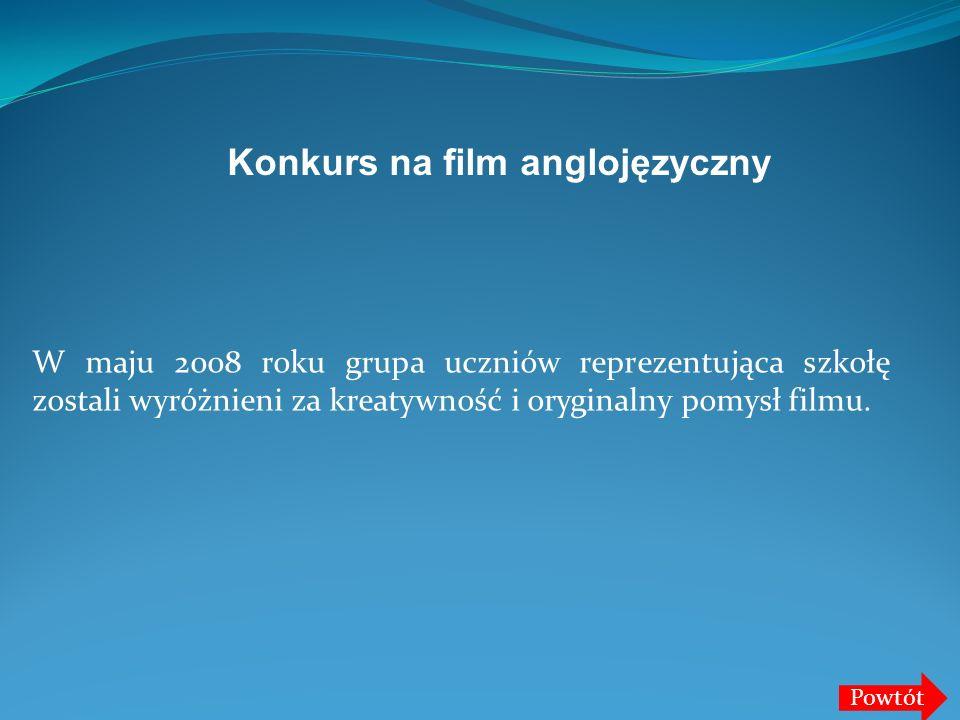 Konkurs na film anglojęzyczny