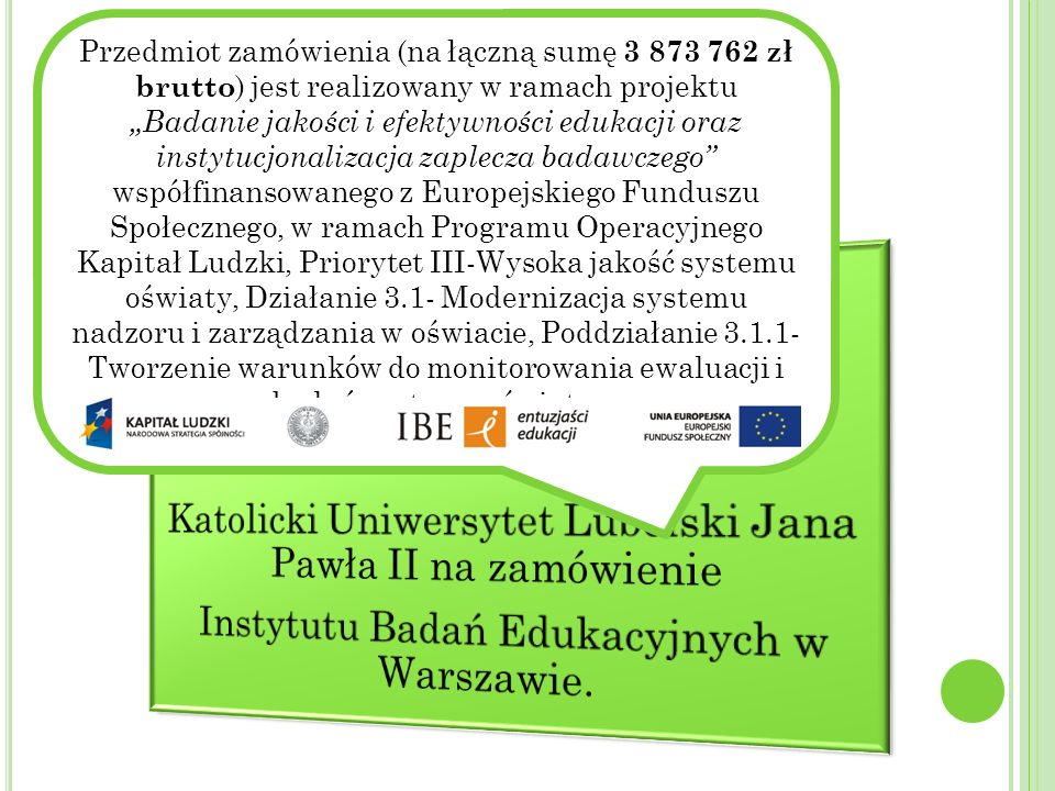 Katolicki Uniwersytet Lubelski Jana Pawła II na zamówienie