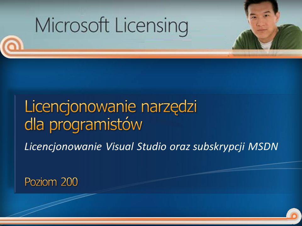 Licencjonowanie narzędzi dla programistów