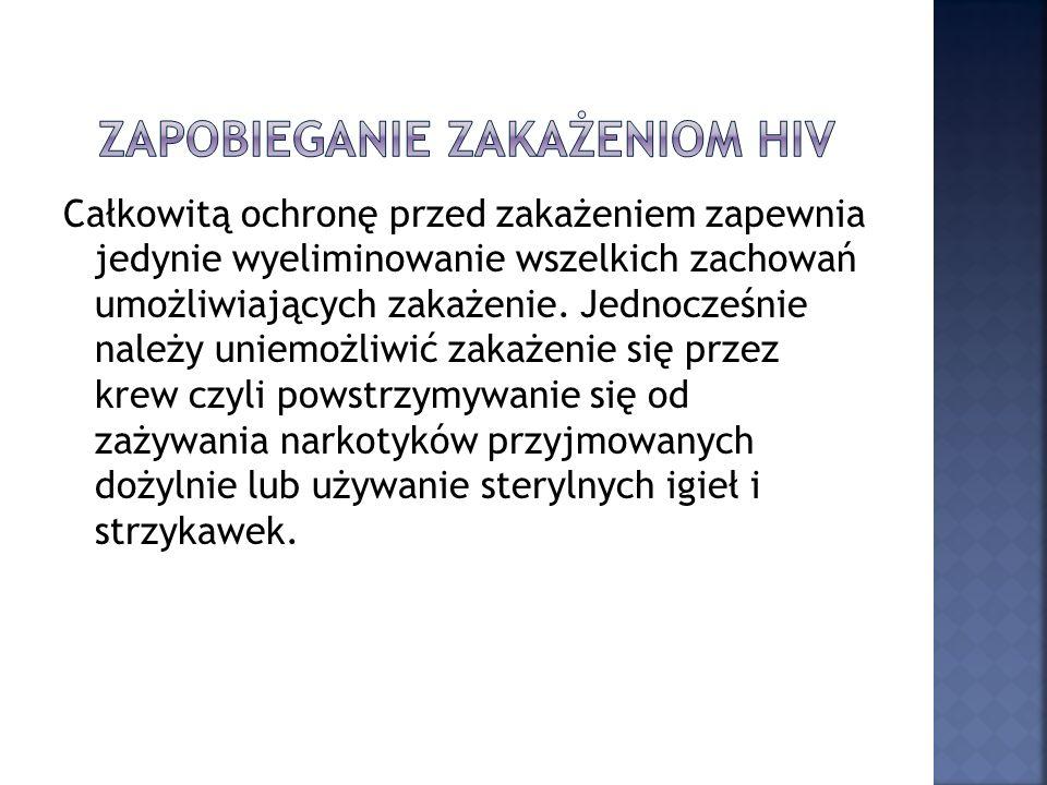 Zapobieganie zakażeniom HIV