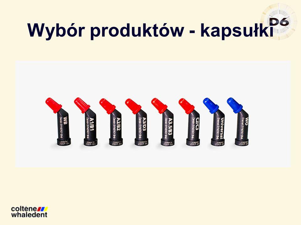 Wybór produktów - kapsułki